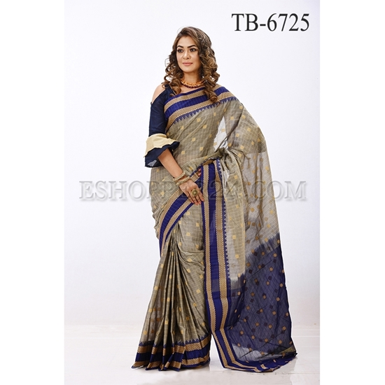 Picture of Gas Silk Saree - TB-6725