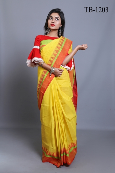 Picture of Pure Cotton Saree -TB-1203