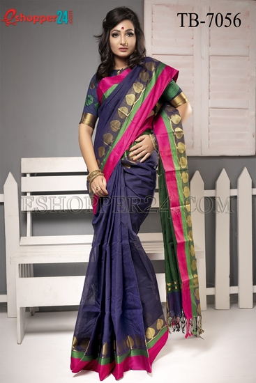 Picture of Pure Cotton Saree -TB-7056