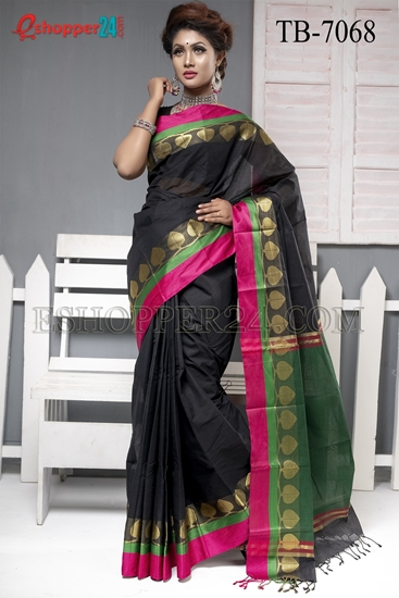 Picture of Pure Cotton  Saree - TB-7068