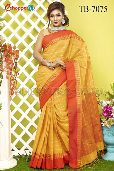 Picture of Pure Cotton Saree - TB-7075