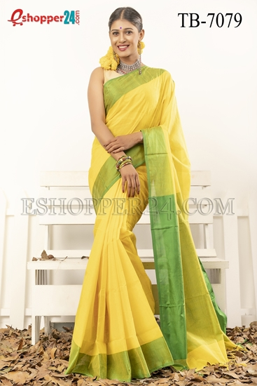 Picture of Pure Cotton Saree -TB-7079