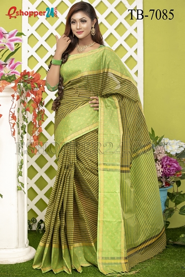 Picture of Pure Cotton Saree -TB-7085