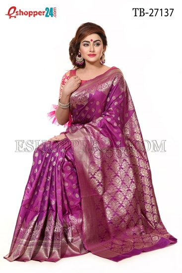 Picture of Buty Katan  Saree - TB-27137