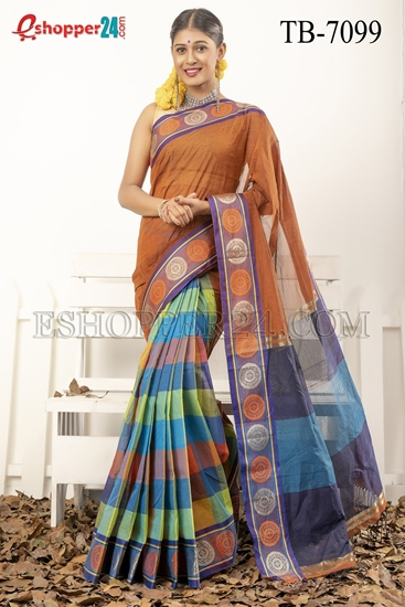 Picture of Pure Cotton Saree - TB-7099