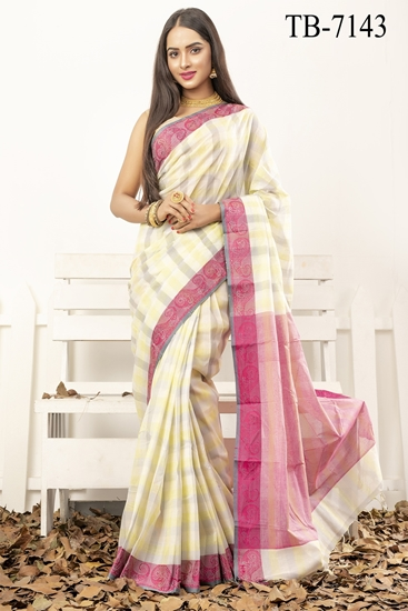 Picture of Pure Cotton  Saree - TB-7143