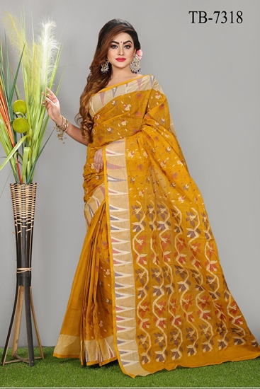 Picture of Pure Cotton  Saree - TB-7318