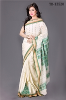 Picture of Cotton Handwork Saree - TB-13520