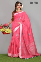 Picture of Pure Cotton  Saree - TB-7315