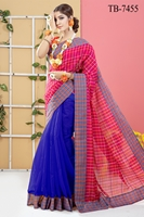 Picture of Half Silk Saree- TB-7455