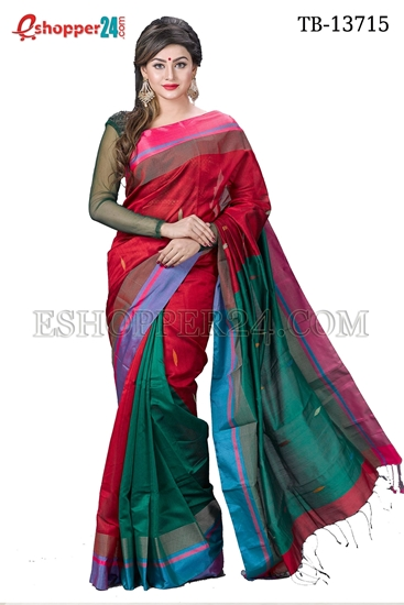 Picture of Half Silk Saree - TB-13715