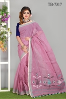 Picture of Half Silk Saree - TB-7317