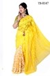 Picture of Moslin Silk all over Jamdani Saree - TB-8147