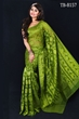 Picture of Moslin Silk all over Jamdani Saree - TB-8157