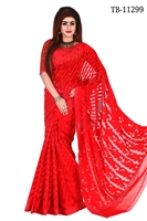 Picture of Moslin Jamdani Saree - TB-11299