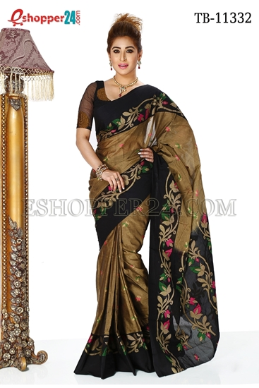Picture of Soft  Cotton Saree TB-11332
