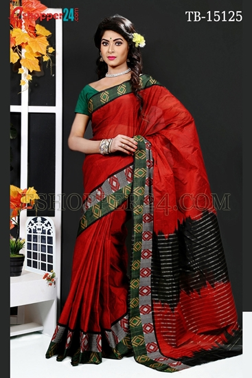 Picture of Masslice Cotton Saree - TB-15125