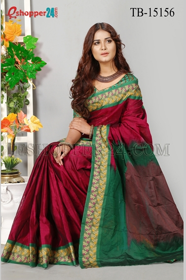Picture of Masslice Cotton Saree - TB-15156