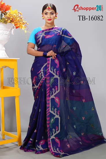 Picture of Masslice Cotton Saree - TB-16082
