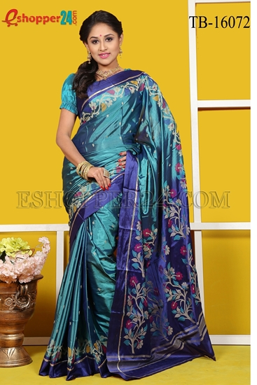 Picture of Soft Silk Saree- TB-16072