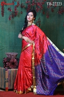 Picture of Soft Silk Saree- TB-22223