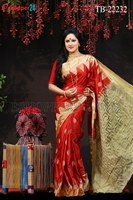 Picture of Soft Silk Saree- TB-22232