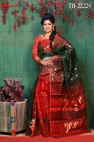 Picture of Moslin Jamdani Saree - TB-22224