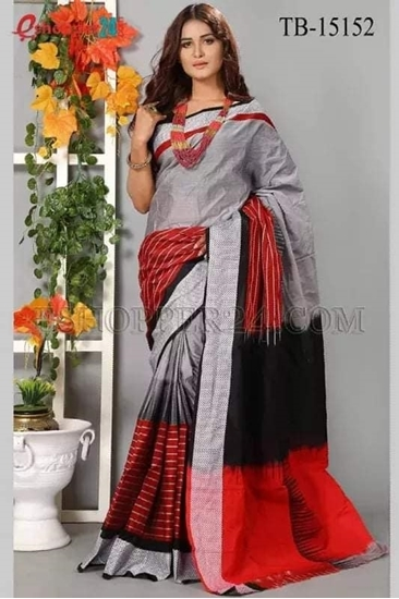 Picture of Masslice Cotton Saree - TB-15152
