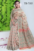 Picture of Half Silk Saree - TB-7185