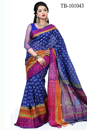 Picture of Pure Cotton Saree -TB-101043