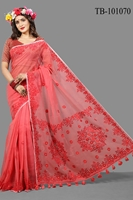 Picture of Pure Muslin Silk Saree- TB-101070