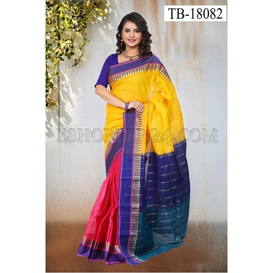 Picture of Masslice Cotton Saree - TB-18082