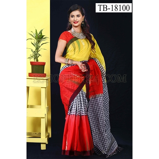 Picture of Masslice Cotton Saree -TB-18100