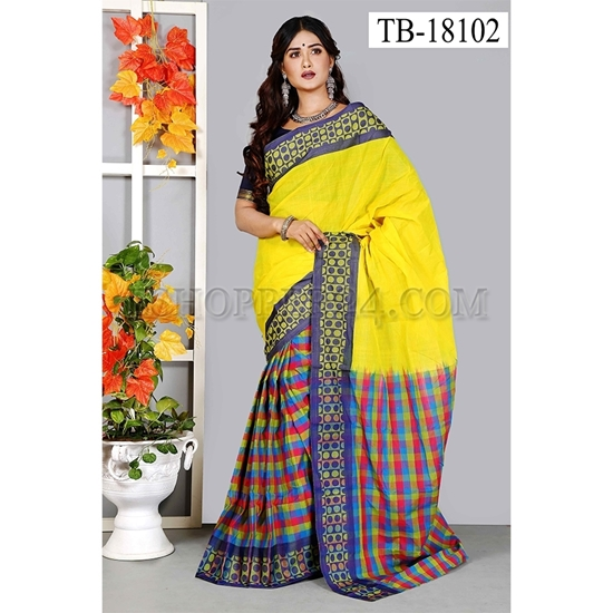 Picture of Masslice Cotton Saree -TB-18102