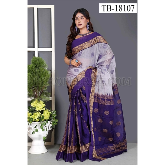 Picture of Masslice Cotton Saree -TB-18107