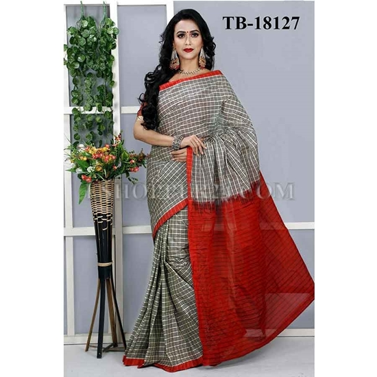 Picture of Masslice Cotton Saree - TB-18127