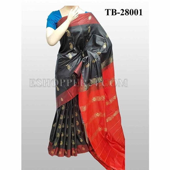 Picture of Buty Katan Saree -TB-28001
