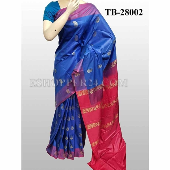Picture of Buty Katan Saree -TB-28002