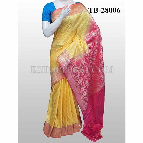 Picture of Buty Katan Saree -TB-28006