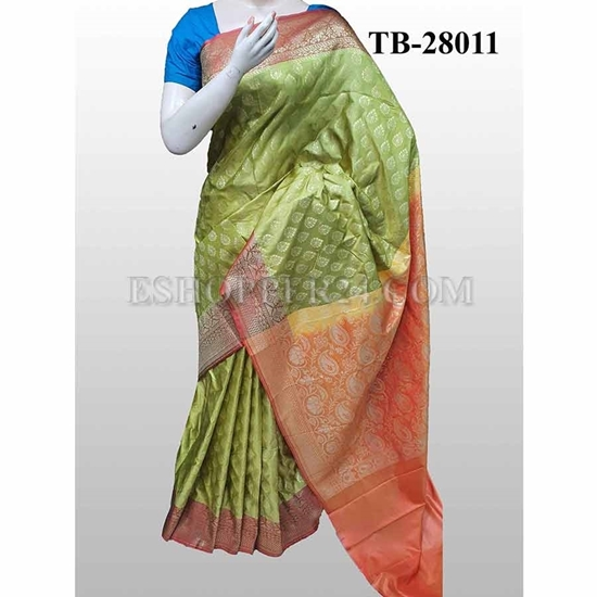 Picture of Buty Katan Saree -TB-28011