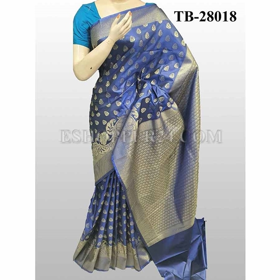 Picture of Buty Katan Saree -TB-28018