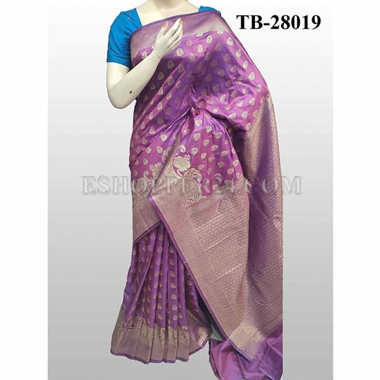 Picture of Buty Katan Saree -TB-28019
