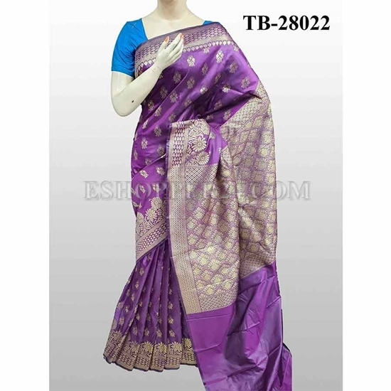 Picture of Buty Katan Saree -TB-28022