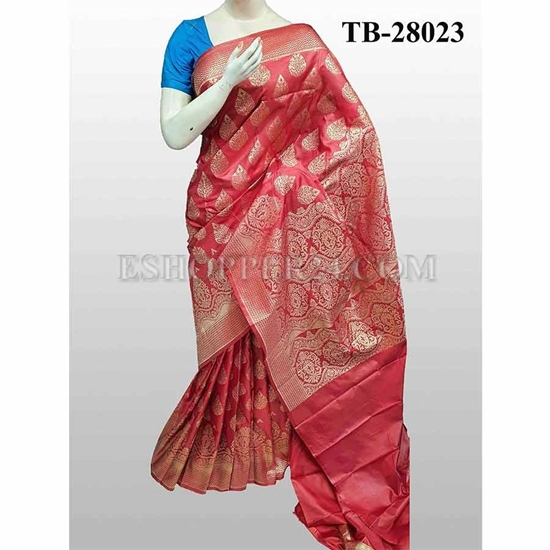 Picture of Buty Katan Saree -TB-28023