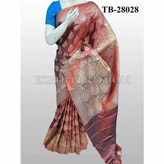 Picture of Buty Katan Saree -TB-28028