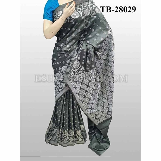 Picture of Buty Katan Saree -TB-28029