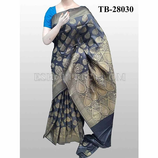 Picture of Buty Katan Saree -TB-28030