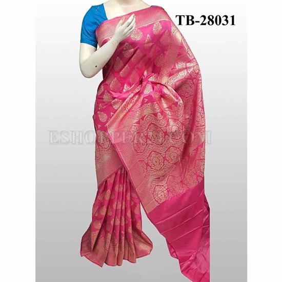 Picture of Buty Katan Saree -TB-28031