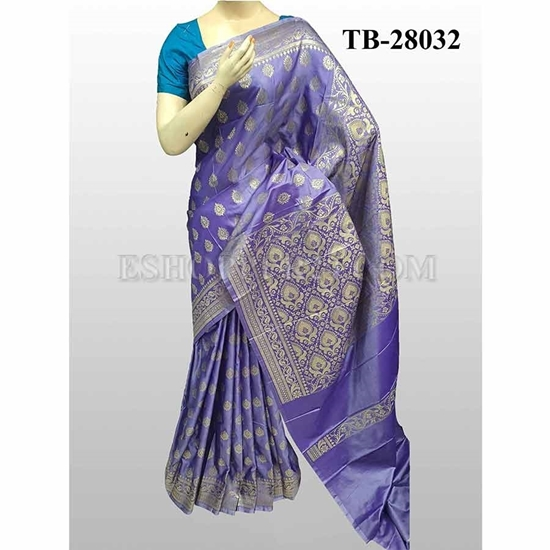 Picture of Buty Katan Saree -TB-28032