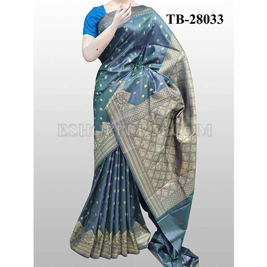 Picture of Buty Katan Saree -TB-28033